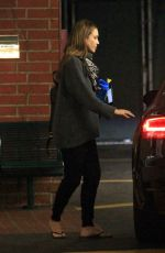 JESSICA ALBA Headig to a Doctor in Beverly Hills 01/003/2016