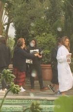 JESSICA ALBA on the Set of a Photoshoot in Los Angeles 01/20/2017