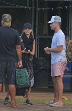 JESSICA ALBA on Vacation in Hawaii 12/31/2016