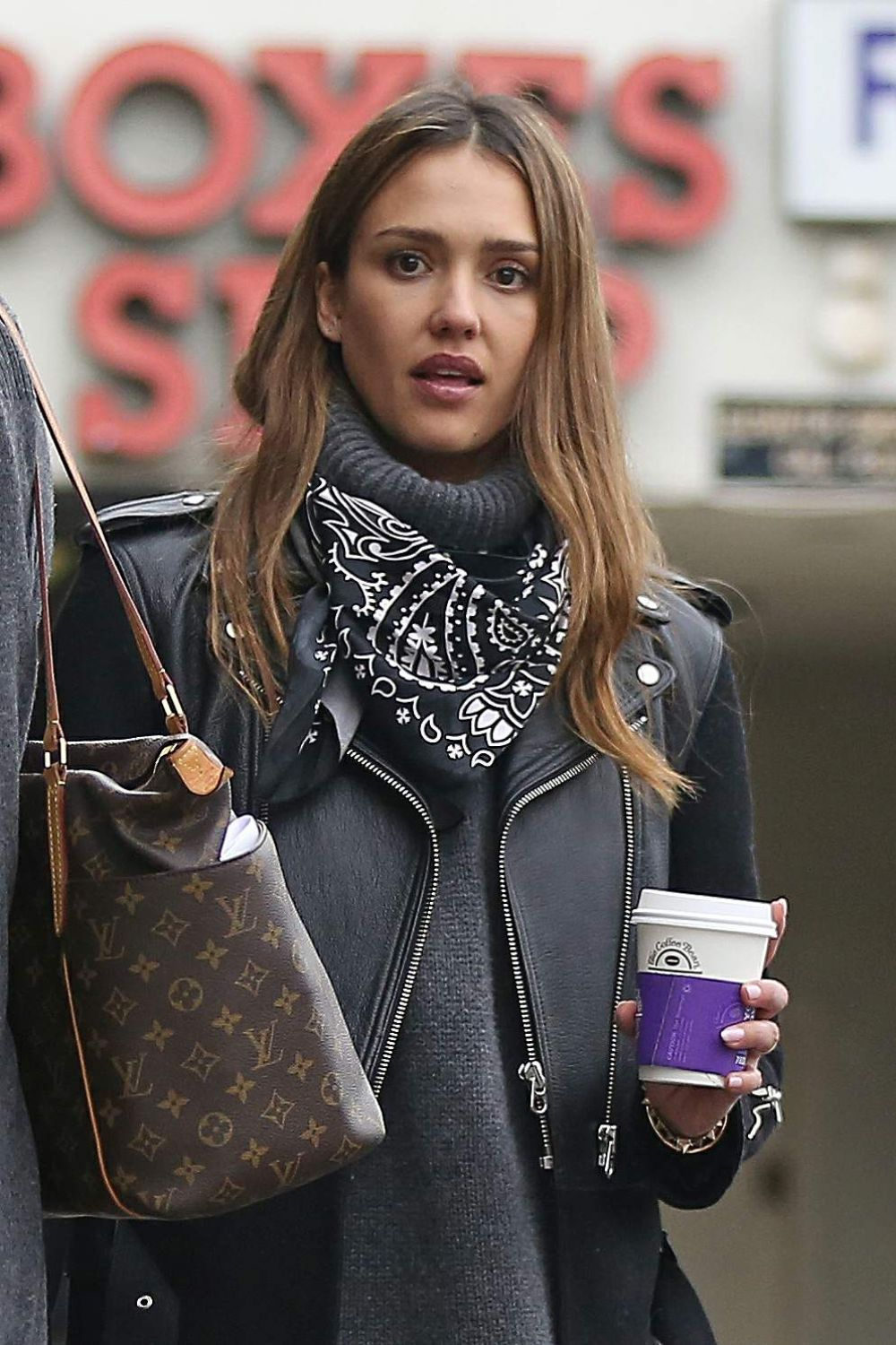 JESSICA ALBA Out for C...