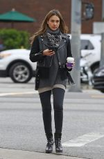 JESSICA ALBA Out for Coffee in Los Angeles 01/03/2017