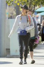 JESSICA ALBA Out for Lunch in Beverly Hills 01/28/2017