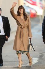 JESSICA BIEL Arrives at Jimmy Kimmel Live! in Hollywood 01/11/2017