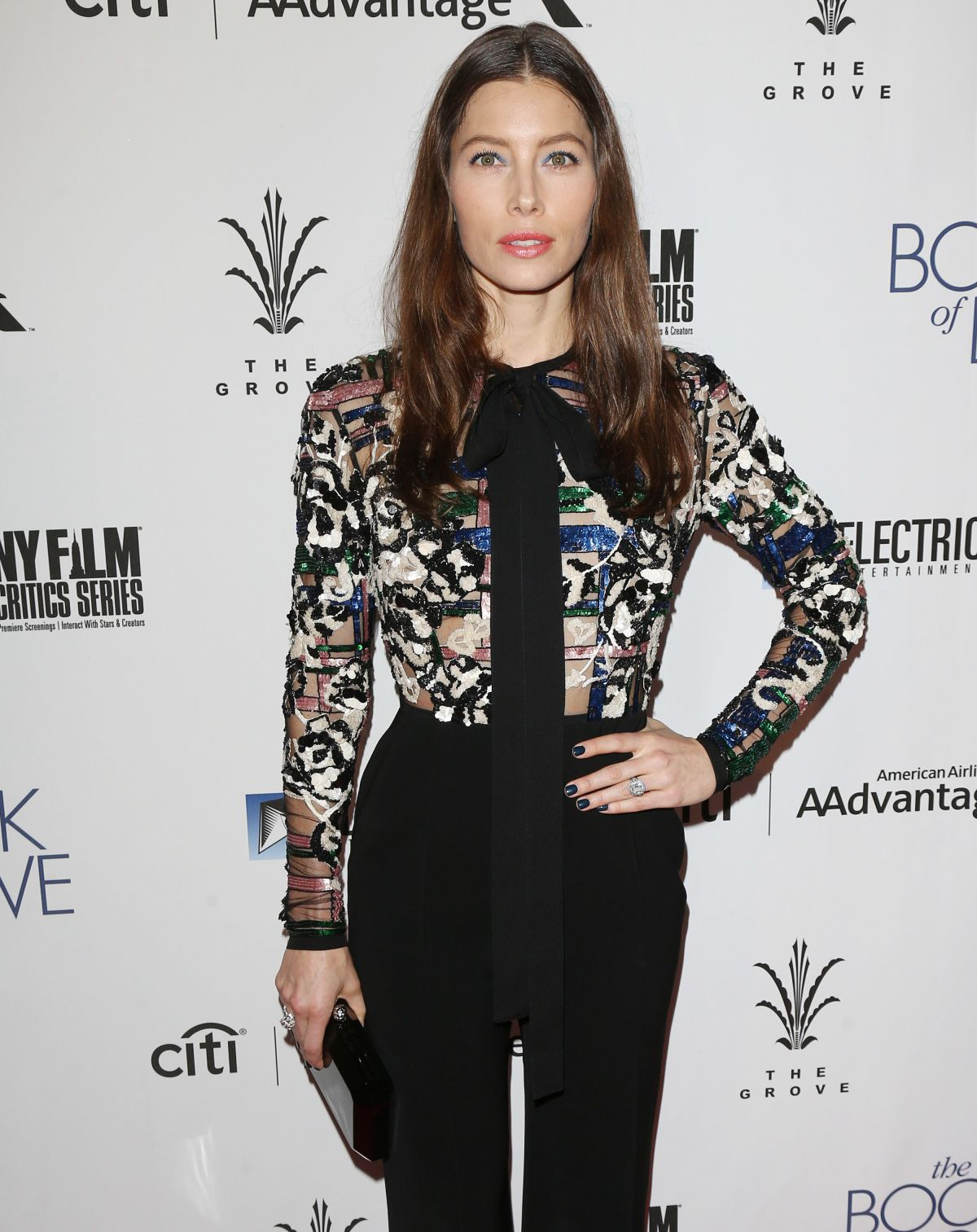 JESSICA BIEL at 'The Book of Love' Premiere in Los Angeles ...