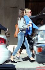JESSICA BIEL in Skinny Jeans Out Shopping in Los Angeles 01/17/2017