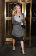JESSICA CAPSHAW Leaves NBC Studios in New York 01/18/2017