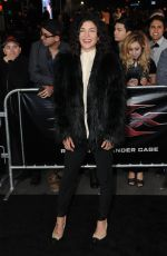 JESSICA SZHOR at 'XXX: The Return of Xander Cage' Premiere in Hollywood 01/19/2017