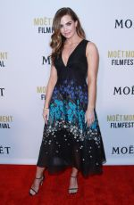 JILLIAN MURRAY at 2nd Annual Moet Moment Film Festival in West Hollywood 01/04/2017