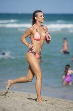 JOANNA KRUPA in Bikini on the Beach in Miami 12/31/2016