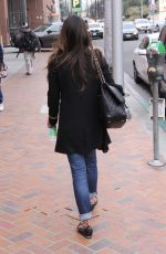 JORDANA BREWSTER Out and About in Beverly Hills 01/09/2017