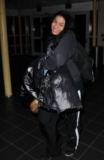 JORDIN SPARKS at Airport in Wahington 01/05/2017