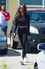 JOURDAN DUNN Out and About in Barbados 01/03/2017