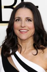 JULIA LOUIS-DREYFUS at 74th Annual Golden Globe Awards in Beverly Hills 01/08/2017