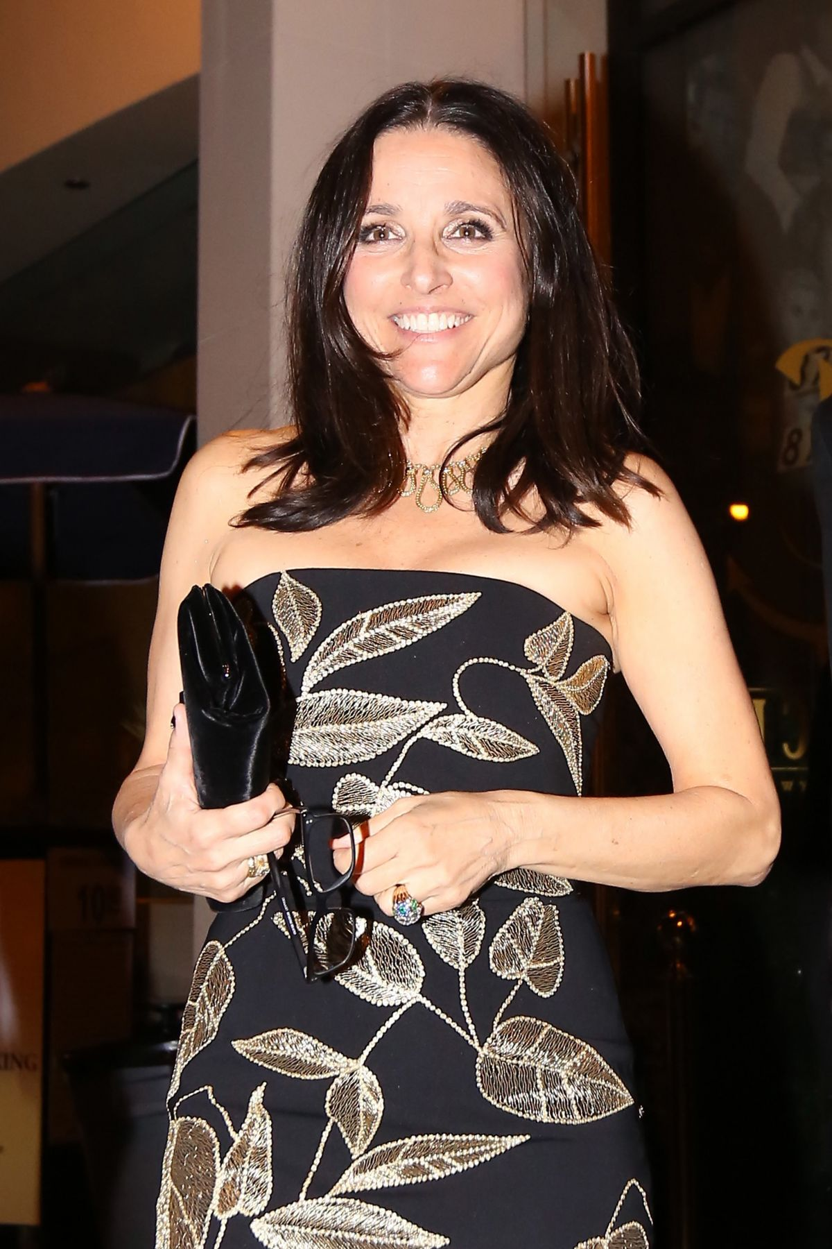 JULIA LOUIS-DREYFUS at Catch LA in West Hollywood 01/29/2017