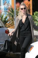 JULIANNE HOUGH Leaves a Hair Salon in West Hollywood 01/26/2017