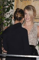 JULIANNE HOUGH and NICOLE RICHIE Arrives at Harper's Bazaar 150 Most Fashionable Women Party in Hollywood 01/27/2017