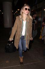JULIANNE HOUGH at Los Angeles International Airport 01/04/2017