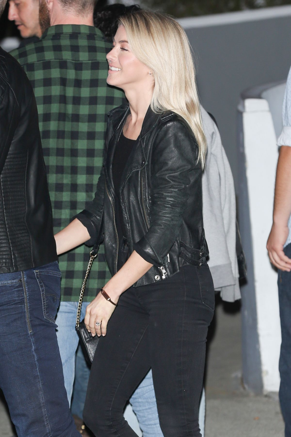 JULIANNE HOUGH at The Kings of Leon Concert in Inglewod 01/28/2017