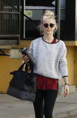 JULIANNE HOUGH Leaves a Gym in Studio City 01/18/2017
