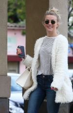 JULIANNE HOUGH Out and About in West Hollywood 01/15/2017