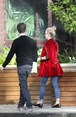 JULIANNE HOUGH Out for Lunch with a Friend in Beverly Hills 01/11/2017