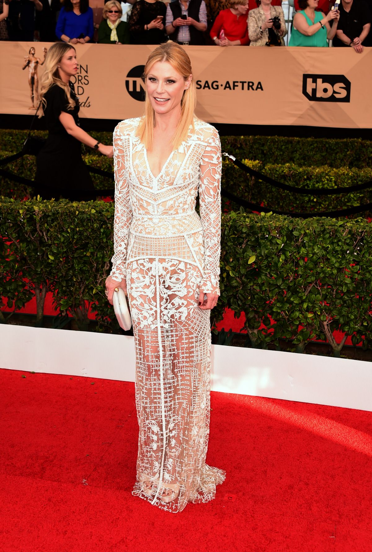 JULIE BOWEN at 23rd Annual Screen Actors Guild Awards in Los Angeles 01/29/2017