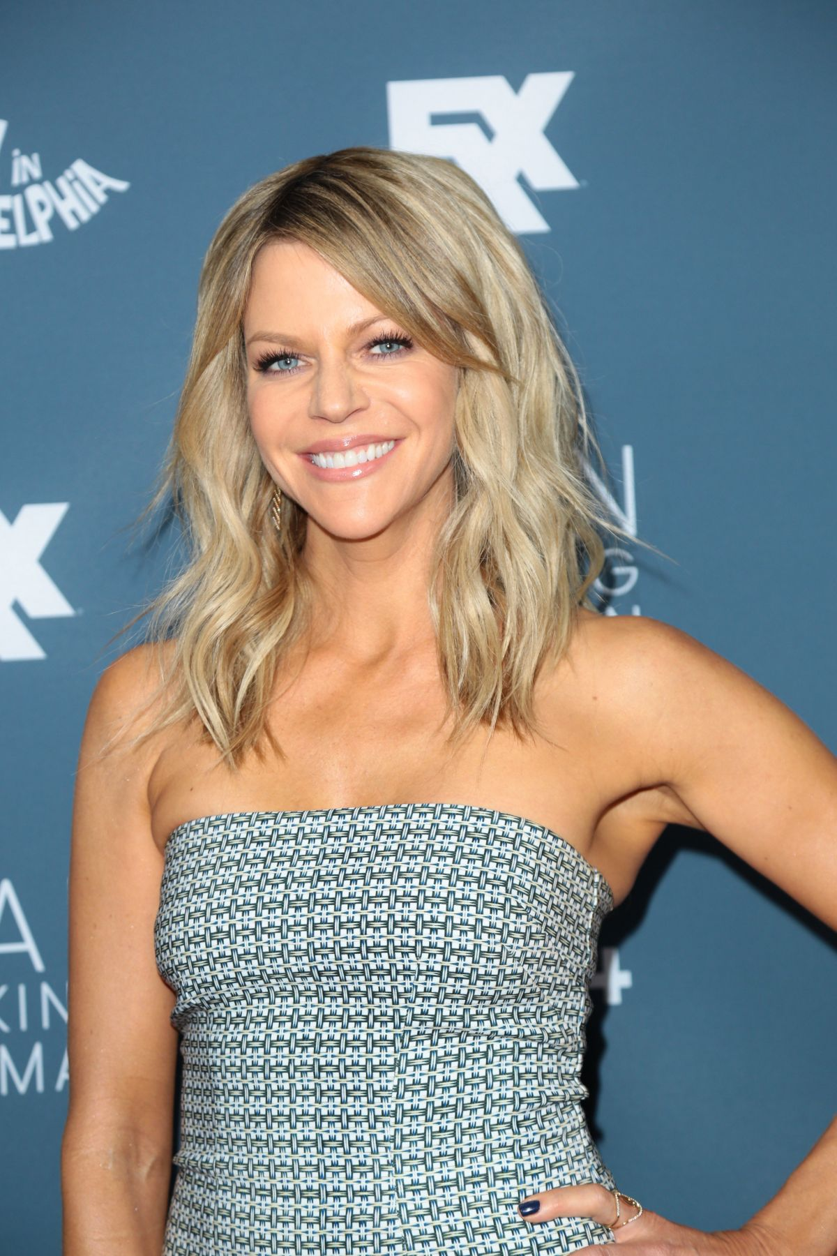 KAITLIN OLSON at 'It's Always Sunny in Philadelphia' Premiere in Westwood 01/03/2017