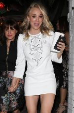 KALEY CUOCO at Chateau Marmont in West Hollywood 01/28/2017