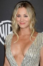 KALEY CUOCO at Warner Bros. Pictures & Instyle's 18th Annual Golden Globes Party in Beverly Hills 01/08/2017