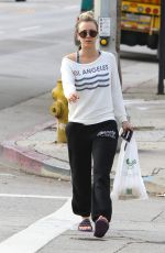 KALEY CUOCO Leaves a Yoga Class in Studio City 01/18/2017