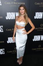 KARA DEL TORO at 'John Wick: Chapter 2' Premiere in Los Angeles 01/30/2017