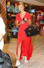 KARLIE KLOSS at Airport in Sydney 01/30/2017