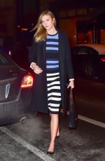 KARLIE KLOSS Night Out in New York 01/10/2017