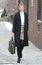 KARLIE KLOSS Out and About in New York 01/09/2017