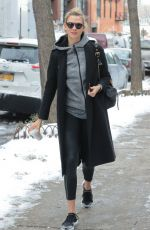 KARLIE KLOSS Out in New York 01/09/2017