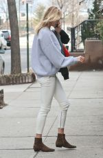 KARLIE KLOSS Out in New York 01/12/2017