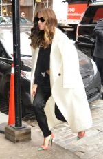 KATE BECKINSALE Arrives at Her Hotel in New York 01/05/2017
