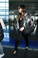 KATE BECKINSALE Arrives at JFK Airport in New York 01/05/2017