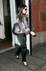 KATE BECKINSALE Leaves Her Hotel in New York 01/05/2017