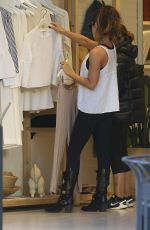KATE BECKINSALE Shopping at Elizabeth & James at The Grove in West Hollywood 01/30/2017