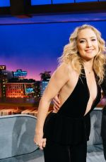 KATE HUDSON at Late Late Show with James Corden 01/17/2017