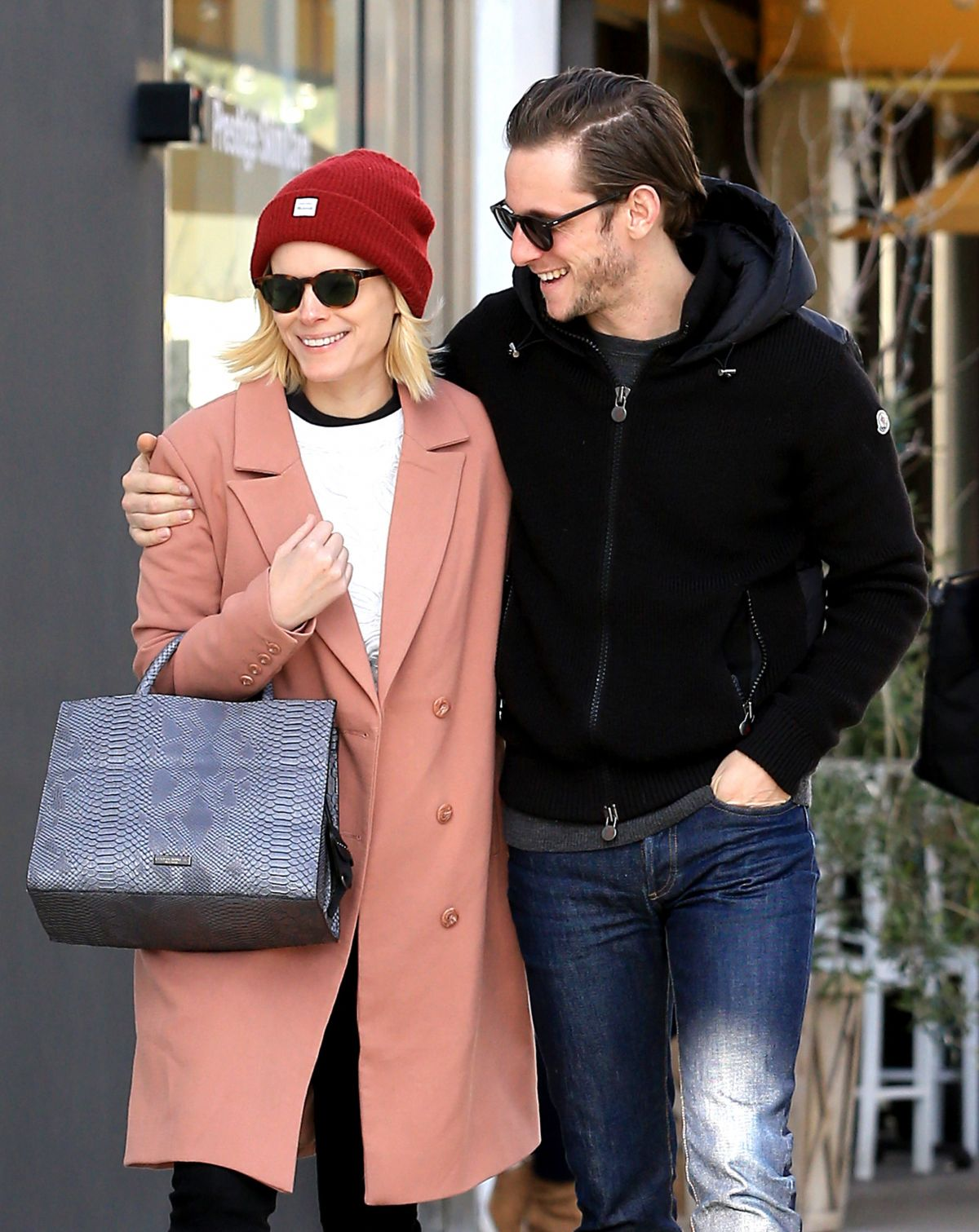 KATE MARA and Jamie Bell Out Shopping in Beverly Hills 01/26/2017