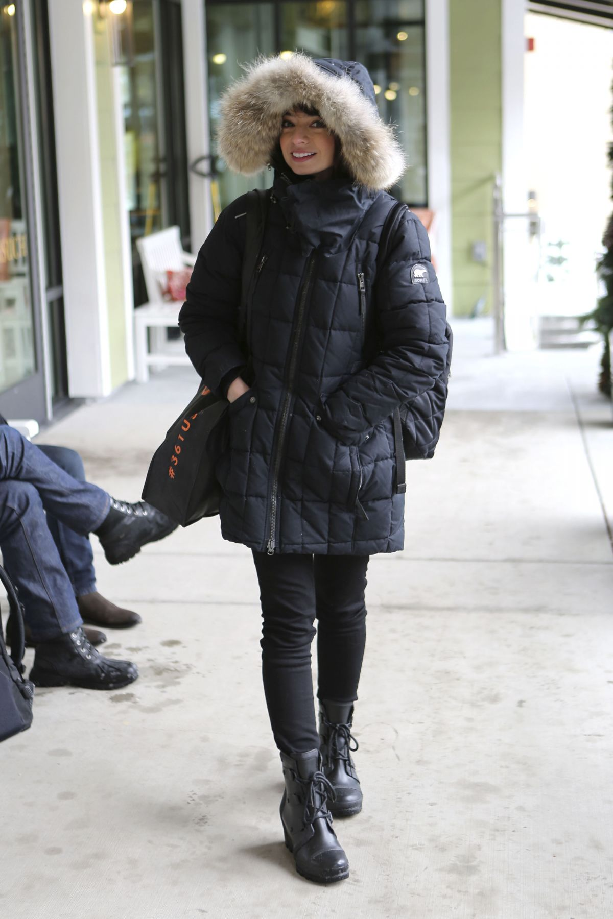 KATE MICUCCI Out in Park City 01/21/2017