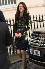 KATE MIDDLETON Arrives at Institute of Contemporary Arts in London 01/17/2017