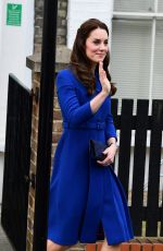 KATE MIDDLETON Leaves The Anna Freud Centre in London 01/11/2017