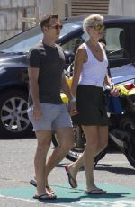 KATE SPECK with Her Boyfriend Out in Sydney 01/13/2017