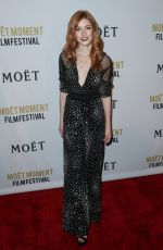 KATHERINE MCNAMARA at 2nd Annual Moet Moment Film Festival in West Hollywood 01/04/2017