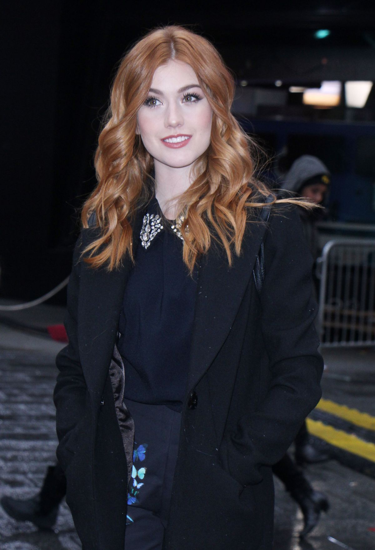 KATHERINE MCNAMARA Out and About in New York 01/02/2017