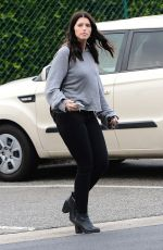 KATHERINE SCHWARZENEGGER Out and About in Beverly Hills 01/05/2017