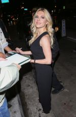 KATHERYN WINNICK at Catch LA in West Hollywood 01/10/2017